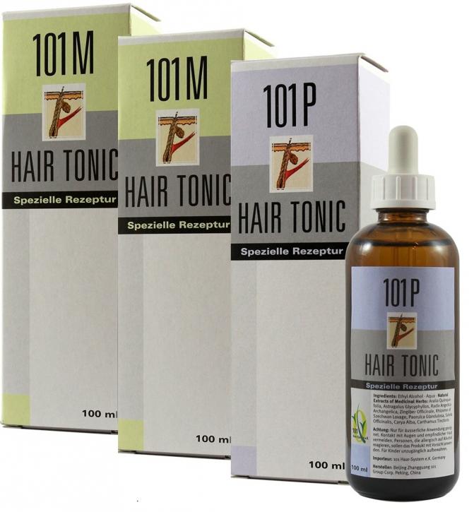 3er Set 2x 101M+ 1x 101P Hair Tonic