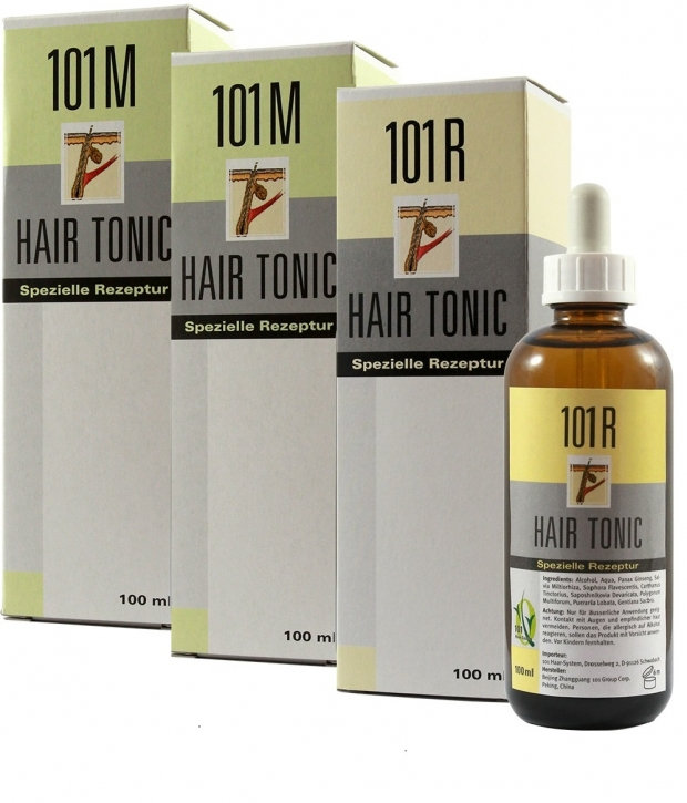 3er Set 2x 101M+1x 101R Hair Tonic