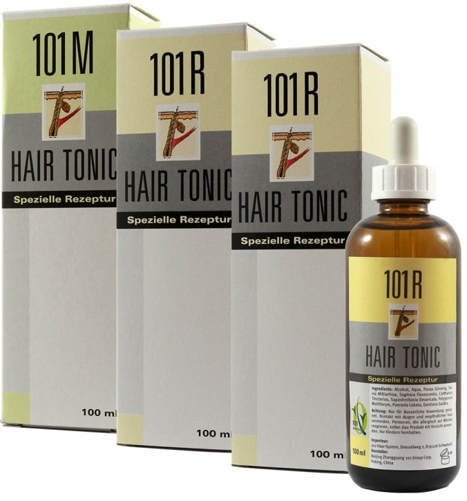 3er Set 1x 101M+2x 101R Hair Tonic
