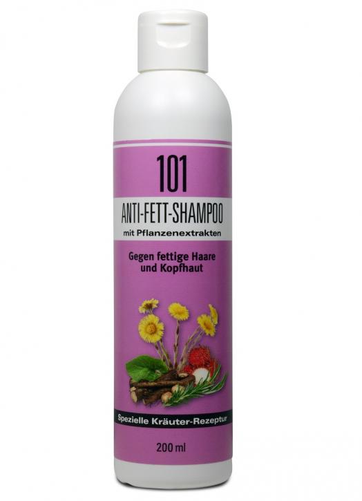 101 Anti-Fett-Shampoo mit Pflanzenextrakten 200ml